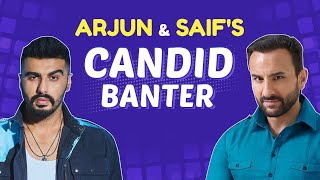 Arjun Kapoor & Saif Ali Khan on insecurities, lows, Kareena Kapoor & buying back Pataudi palace