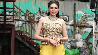 Kundali Bhagya Actress Anjum Fakih Spotted At Film City