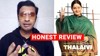 Thalaivii Movie Review   Kangana Ranaut   Arvind Swamy   Vijay By RJ Divya Solgama