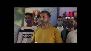 hamirpur Delegation against mining