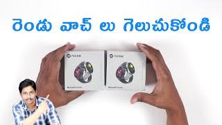 NOISEFIT CORE SMARTWATCH Under 3000 Unboxing Telugu
