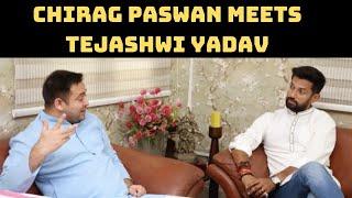 Chirag Paswan Meets Tejashwi Yadav In Patna | Catch News