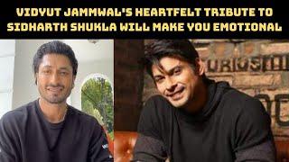 Vidyut Jammwal's Heartfelt Tribute To Sidharth Shukla Will Make You Emotional   Catch News