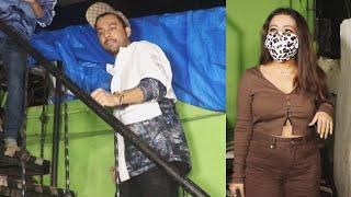 Neha Kakkar And Tony Kakkar Spotted Versova For Promotion Their song Kanta Laga