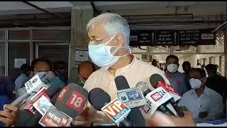 प्रदेश में करोना बाहर से आ रहा है - स्वास्थ्य मंत्री
