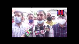 hamirpur Chakka Jam on Police Challan
