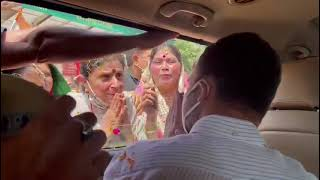 Shri Rahul Gandhi enroute to the Holy Shrine of Mata Vaishno Devi