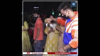 Prince Narula & Yuvika Chaudhary at Ganpati pandal