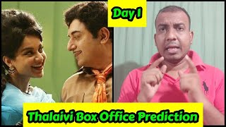 Thalaivii Box Office Collection Prediction Day 1