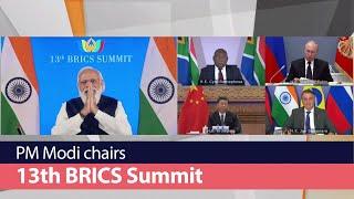 PM Modi chairs 13th BRICS Summit | PMO