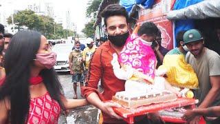 Krushna Abhishek & Kashmera Shah Brings Eco Friendly Ganesha Home  Ganesh Chaturthi