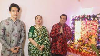 Govinda Ke Ghar Ke Ganapati, Family Ke Sath Ki Puja | Ganesh Chaturthi 2021