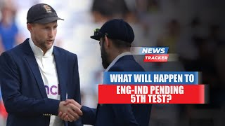 BCCI and ECB Working towards Finding A Window To Reschedule The Cancelled Test & More News
