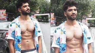 Bigg Boss OTT Contestant Zeeshan Khan  Spotted  At Starbucks Lokhandwala