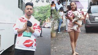 Bigg Boss OTT Sunday Ka Vaar Ke Liye Tony Kakkar Aur Devoleena Pohache Film City