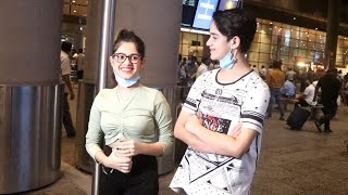 Jannat Zubair And Ayaan Zubair Spotted At Airport Arrived