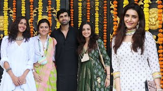 Karishma Tanna, Ridhhi Dogra And Many Celebs At Ekta Kapoor Ganesh Festival