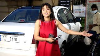 Yeh Rishta Kya Kehlata Hai Fame Shivangi Joshi Spotted Film City
