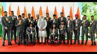 PM Shri Narendra Modi's memorable interaction with Paralympic Champions!