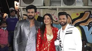 Rahul Vaidya, Divyanka Tripathi, Shweta Tiwari & Vishal Aditya Singh Spotted At Filmistan Studio