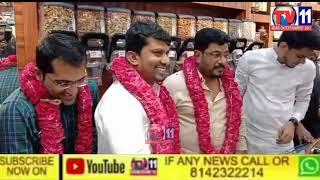GRAND OPENING OF AJWAH AND CHOCOLATES AND AL NASHWA PERFUMES  @TV11 NEWS FAST FACT 24X7