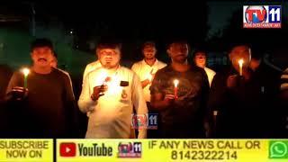 Amer ali khan Candle light rally against sabiya rape in Delhi ice for sabiyaArl khan