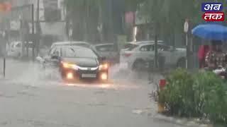 રાજકોટમાં મેઘ મહેર, જુઓ ગોંડલ રોડનો લાઈવ વરસાદી માહોલ | ABTAK MEDIA