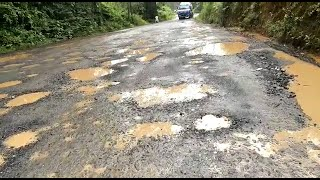 In Pernem motorist are shocked to suddenly see roads among potholes!