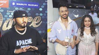 Dance Deewane 3 Ke Shooting Ke Liye Pohache Honey Singh, Neha Kakkar, Tony Kakkar