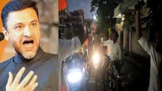 Hindu Naujawano Ne Di Akbaruddin Owaisi Ko Gaaliya | Ghanesh Chaturti Ke Waqt Ka Video |