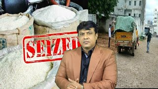 The Scam Of PDS Rice Going On In Hyderabad | What is Govt Doing ? | SACH NEWS |