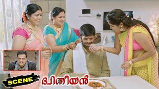 Burra Katha Malayalam Movie Scenes   Rangasthalam Mahesh Irritated with Over Politeness   Dhyudhiyan