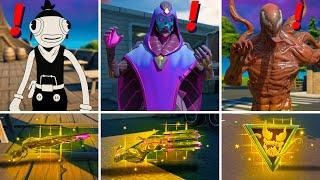 Fortnite Season 8 Bosses, Mythic Weapons & Vault Locations Guide (Boss Carnage Venom , Toona Fish )