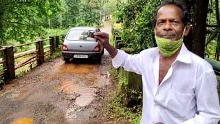 #WATCH | Dangerous footbridge in Sanguem. A disaster waiting to happen