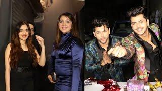 Jannat Zubair, Ashnoor Kaur, Vishal Jethwa & Rits At Siddharth & Abhishek Nigam Birthday Party 2021