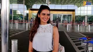 Actress Meenakshi Dixit flies off to Hyderabad to shoot with Nagarjuna