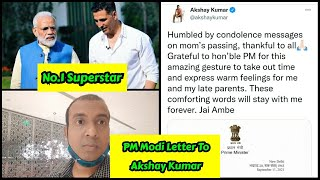 PM Narendra Modi Wrote Letter To Akshay Kumar Calls Him India's Most Admired And Versatile Actor