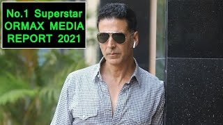 Akshay Kumar Is The No.1 Most Popular Superstar Of August2021 As Per Ormax Report,Here's Top 10 List