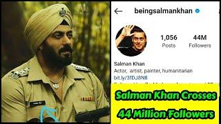Salman Khan Crosses 44 Million Followers On Instagram, Big Achievement For Salman Bhai