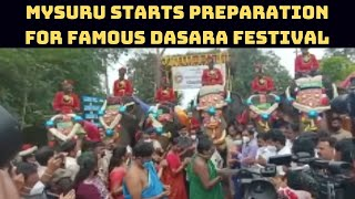 Mysuru Starts Preparation For Famous Dasara Festival | Catch News