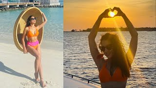 Actress Sara Ali Khan Shares Sizzling Pictures In Bikini | Catch News