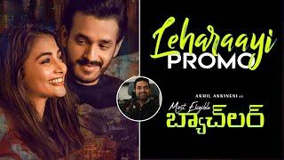 Leharaayi Song Promo | Akhil Akkineni, Pooja Hegde | Gopi Sundar | Bhaskar | Top Telug Tv