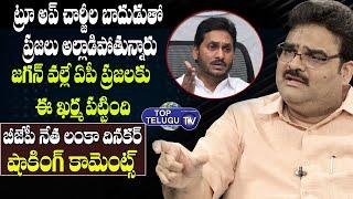 BJP Lanka Dinakar Shocking Comments On CM YS Jagan Over Power Tarrif Hike In AP | Top Telugu TV
