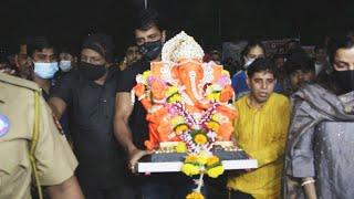 Sonu Sood Ganapati Visarjan | Ganesh Chaturthi 2021