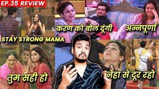 Bigg Boss OTT Review EP 35 | Family Day, Shamita Ki Chappal, Divya Annapoorna, Pratik Ki Sister