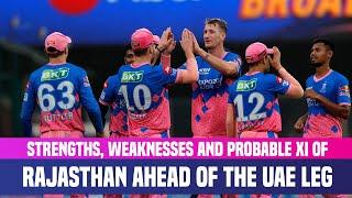 IPL 2021 UAE Leg: Strongest Playing XI Of Rajasthan Royals   RR Strengths & Weaknesses Analysis
