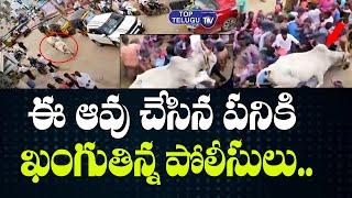 ఈ  ఆవు ఎంత పని చేసిందో చూడండి | High Tension At Vinayaka Chavithi Celebrations | Top Telugu TV