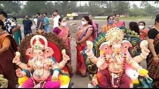 Ganpati Bappa Morya! Ganesh Visarjan at Morjim