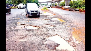 Itne paise me itna hi kaam hota hai! Road contractor answer to Pernem people