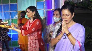 Anupamaa Ke Set Par Ganpati Aarti Aur Visarjan